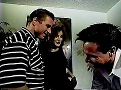 Celeste threesome with Peter North and Woody Long