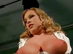Jessica Moore Bonded Pussy Pumpi...