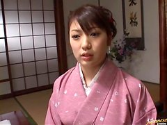 Cute Asian Chick Gets Aroused While practicing Shodou