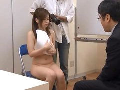 Asian Slut Uses Her Big-Ass Juggs To Give Titjob