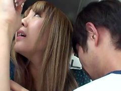 Cute Asian Teen Gets Shagged On A Public Bus