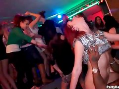 Watch cock riding and doggystyle sluts at party