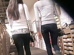 Skinny  Teens Shoe Shopping