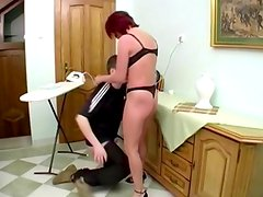 Horny mature housewife fucked by younger guy