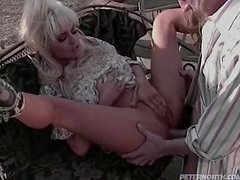 Chick is Fucked Outdoors.