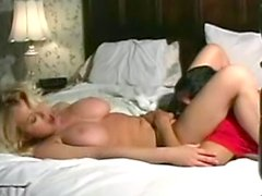 Big titty babe Carolyn M gets nice cunnilingus