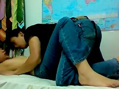 Non-Professional Asian Colleges Legal Age Teenager Take Up With The Tongue Fur Pie