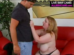 Young Bbw Nice Tits Found  And Fuckes Her Wide Pussy Part 1