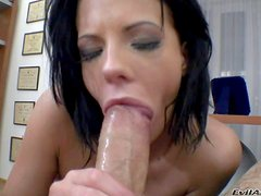 Aliz is a nasty brunette who loves to blow. She