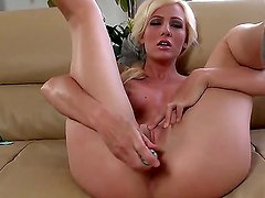 Gorgeous and gentle blonde Cody Love