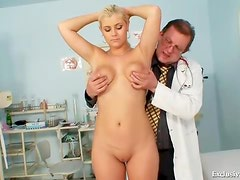 Anal temperature and pussy fingering