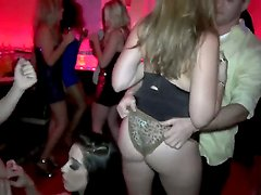 Brannon Rhodes,Karina White and Preston Parker are getting nasty while at the club