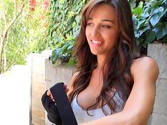 Tetas enormes - Busty hottie Ana Cheri All Eyes On Me Nude