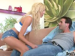 Claudio Meloni drills Victoria White's sweet and tight holes