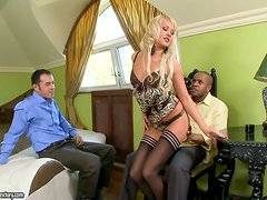 Rough Interracial Sex With The Hot Amelie Pure