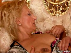 Incredible Hardcore Action with Spectacular Mature Woman