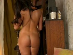 Nikki Mitchell is a delicious brunette with a tight pussy