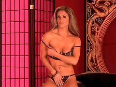 Kristy Angel is giving a hot solo show in her room