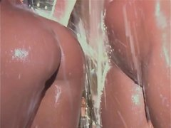 horny twins Kristina and Karissa Shannon are creaming each other