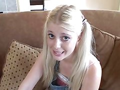 Mean banging for sweet blonde teen