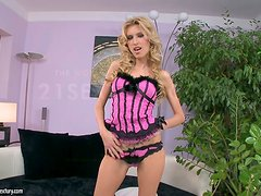 Interracial Sex For The Hot Blonde Babette