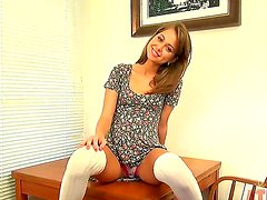 Lucky Riley Reid easily slides out