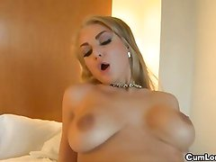 Kayla Green is a russian slut with two huge boobs