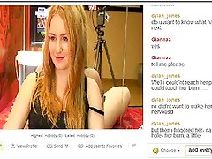 webcam Chat: talking dirty, girls get horny n wet