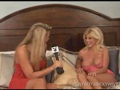 Bria Lyn Allen the Sexy blonde gives an interview to Playboy