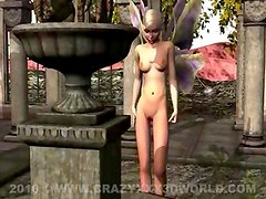 3D Animation: Fairy and Gargoyle : Crazyxxx3Dworld.com