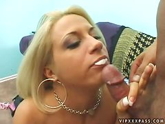Kori Taylor will give a real hot blowjob to her man