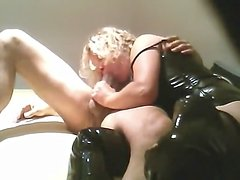 Husband and wife first time anal sex clip at home