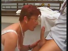 Redhead mature double penetration