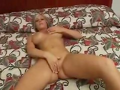 Fake titty amateur in hotel room sucks cock