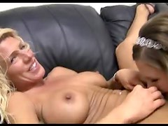 Casting couch video with two dirty sluts