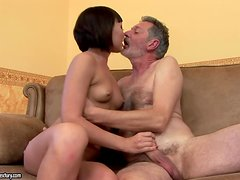 Gorgeous Asian Hottie Fucked By Mature Dude