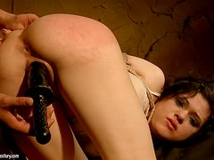 Cutie Tied Up & Forced To Orgasm Like A Sex Slave