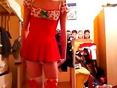 Hot Teenaged Crossdresser
