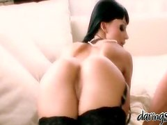 Aletta Ocean gets her amazing holes unforgettably drilled