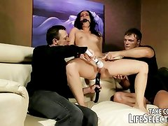 Slave girls disciplined