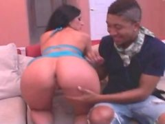 Foreplay with fat ass pornstar Luscious Lopez