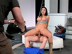 A backstage movie with ambitious and tempting brunette Aletta Ocean and her boyfriend