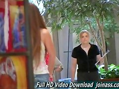 Emma Redhead Cutie Is Caught Shopping At A Mall Wearing