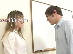 innocent coed seduces a classmate