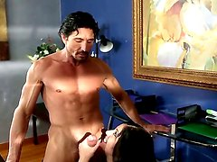 Madelyn Monroe taking her lover Tommy Gunns dick deep in her warm holes