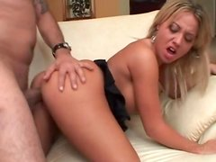 Blonde cunt needs hard fucking from behind