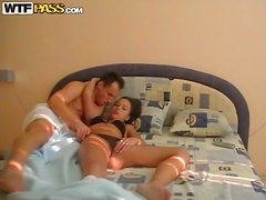 Naughty Amateur Couple Filming Their Hot Morning Sexual Games