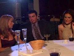 Kris Slater, Pauly Harker and Raquel Devine have perfect threesome sex