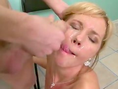 Anal sex with fishnets milf