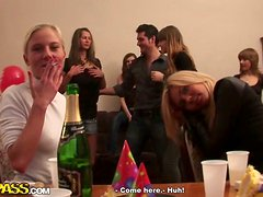 Randy European Beauties Fucking Like Mad in Crazy Orgy